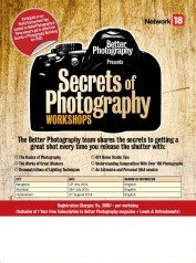 Secrets of Photography Workshop