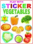 Play With Sticker - Vegetables