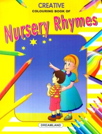Creative Colouring Book - Nursery Rhymes