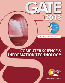 GATE 2013: Computer Science & Information Technology (With CD)