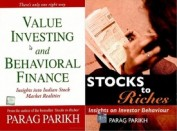 Value Investing and Behavioral Finance \ Stocks to Riches (Set of 2 Books)