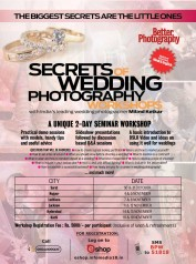 Secrets of Wedding Photography Workshops